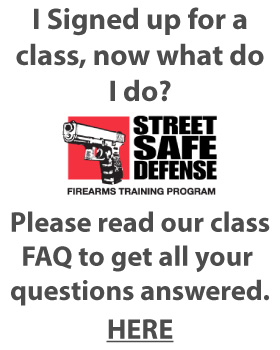 Street Safe Defense - Class FAQ